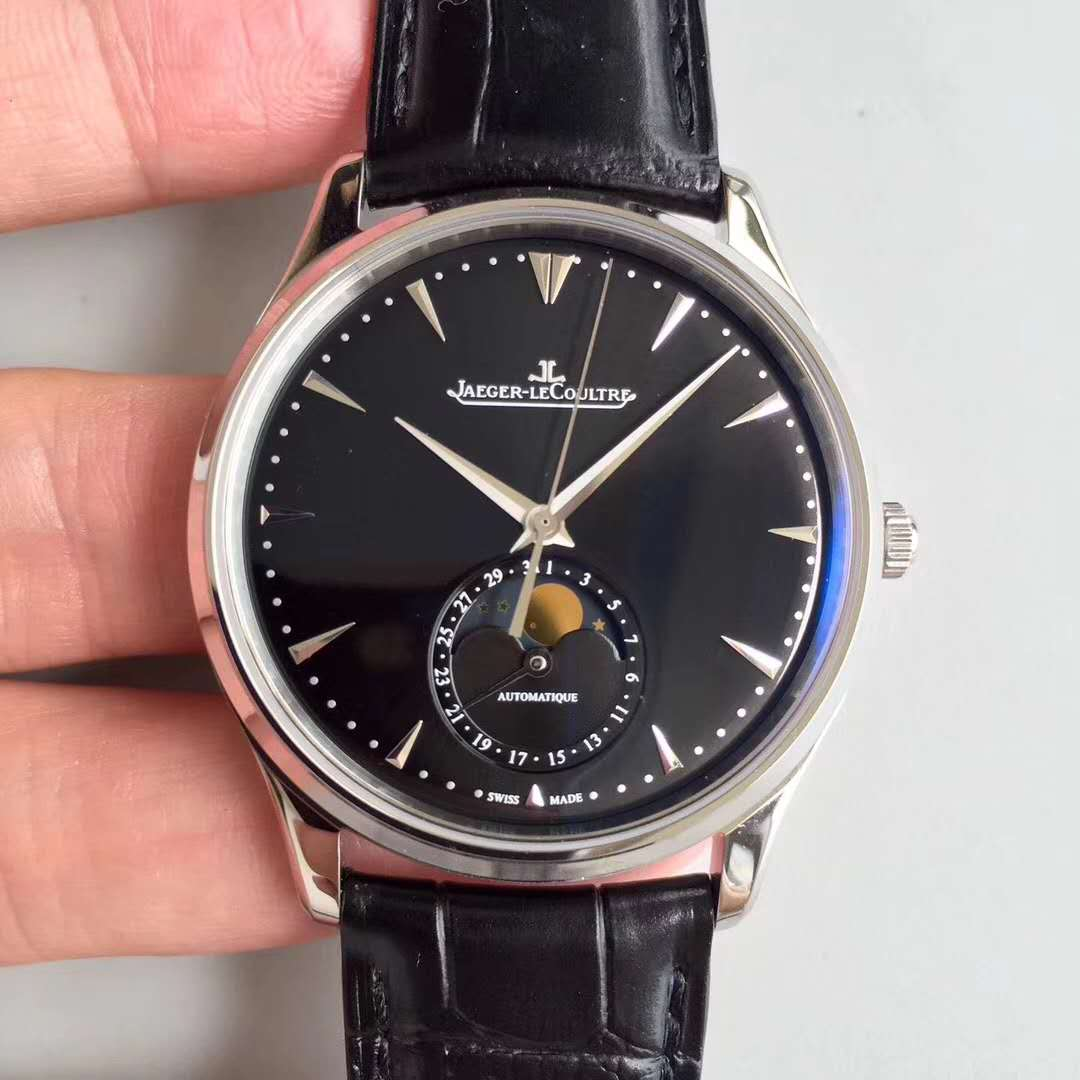 ZF廠Jaeger-LeCoultre 積家Master Ultra Thin Moon 超薄月相大師系列 Q1368470