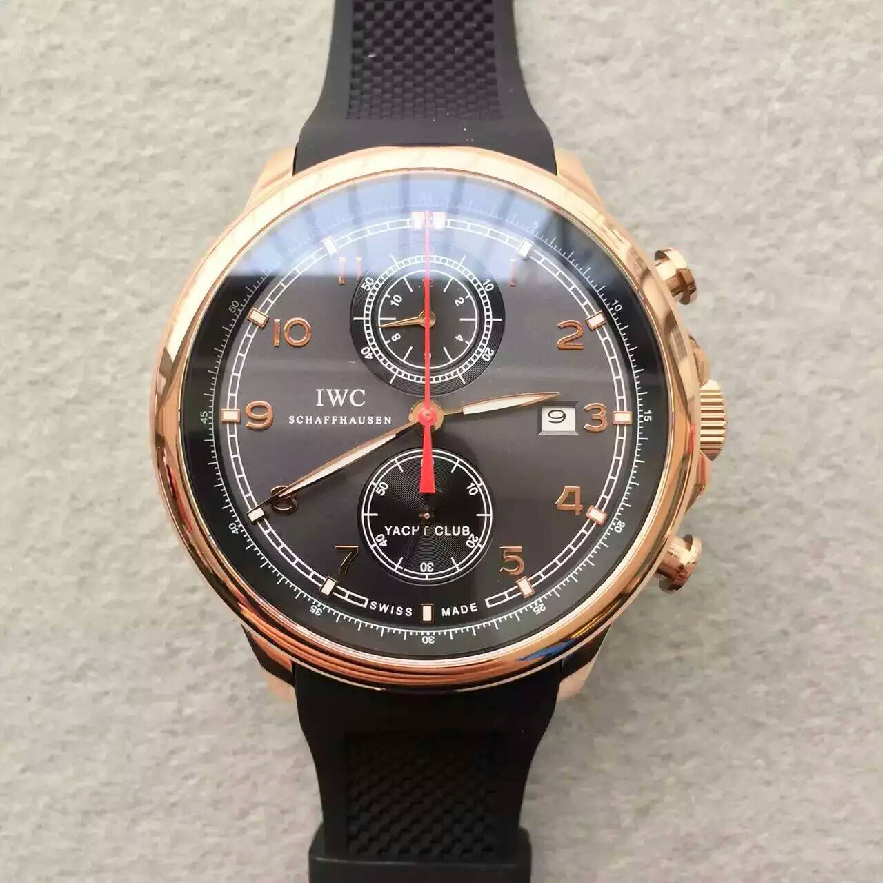 "萬國 IWC 全新葡萄牙YACHT CLUB CHRONOGRAPH航海精英計時腕錶""海洋勇士""特別版"